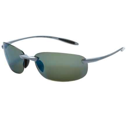 Serengeti Nuvino Sunglasses - Polarized PhD Lenses in Metallic Silver/555Nm Blue Mirror - Closeouts