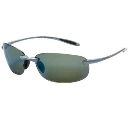 Serengeti Nuvino Sunglasses - Polarized PhD Lenses in Metallic Silver/555Nm Blue Mirror - Closeouts