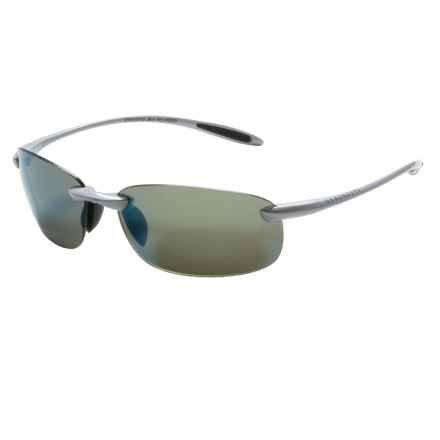 Serengeti Nuvola Sunglasses - Polarized, Photochromic in Metalic Silver/555Nm Blue Mirror - Closeouts