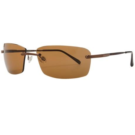 Serengeti Parma Sunglasses - Polarized, Photochromic, Polar PhD Lenses in Brown Tortoise/Phd Drivers