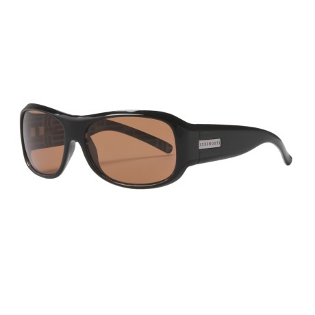 Serengeti Savona Sunglasses - Photochromic in Black Mosaic/Drivers