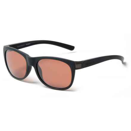 Serengeti Scala Sunglasses - Polarized, Photochromic in Sanded Black/Satin Dark/Gunmetal - Closeouts