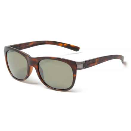 Serengeti Scala Sunglasses - Polarized, Photochromic in Satin Tortoise/Satin/Medium Gur - Closeouts