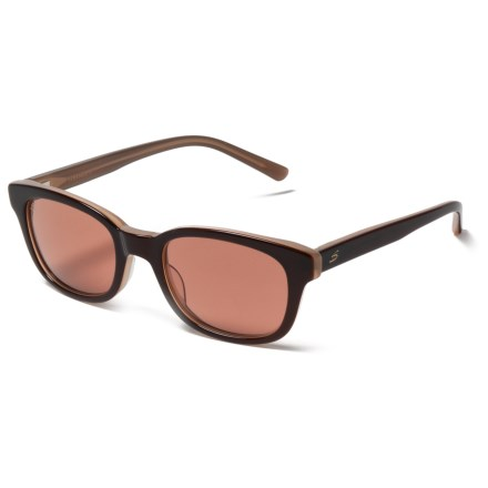 635a8dbf30f9 Serengeti Serena Sunglasses - Photochromic Glass Lenses in Burnt  Almond Drivers - Closeouts