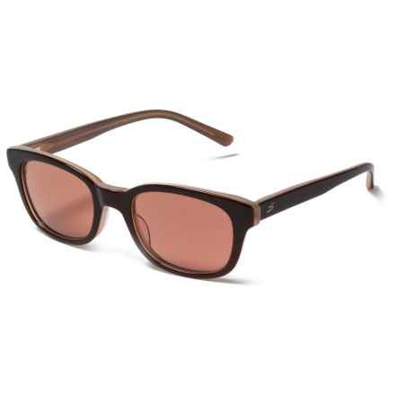 Serengeti Serena Sunglasses - Photochromic Glass Lenses in Burnt Almond/Drivers - Closeouts