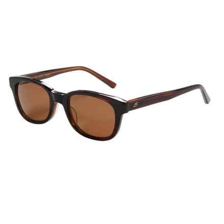 Serengeti Serena Sunglasses - Polarized Glass Lenses in Dark Tortoise Honey Lam/Drivers - Closeouts