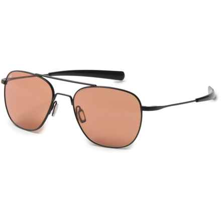 Serengeti Sortie Sunglasses - Photochromic Glass in Satin Black - Overstock