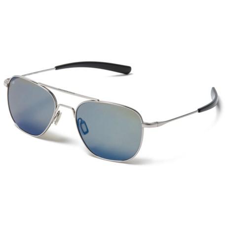 f6e20d61e3b0 Serengeti Sortie Sunglasses - Polarized, Photochromic in Shiny Silver/555Nm  Blue Mirror