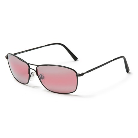 Serengeti Sunglasses - Photochromic Glass Lenses in Satin Black/Black/ Polar Sedona Bi Mirror