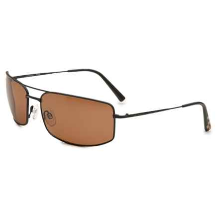 Serengeti Treviso 24h Le Mans Sunglasses - Polarized, Photochromic Glass Lenses in Satin Black/Polarized Drivers - Overstock