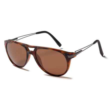 Serengeti Udine Sunglasses - Polarized Glass Lenses in Shiny Red Tortoise/Drivers - Closeouts