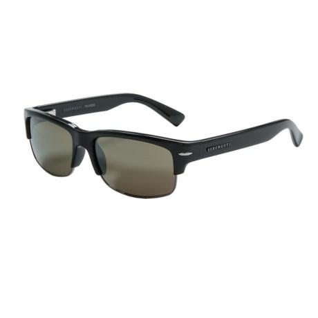 Serengeti Vasio Sunglasses - Polarized, Photochromic in Shiny Black/555Nm