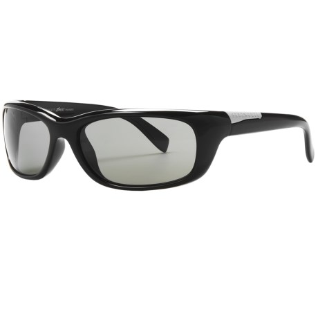 Serengeti Verucchio Sunglasses - Polarized, Photochromic, Polar PhD Lenses in Shiny Black/Phd Cpg