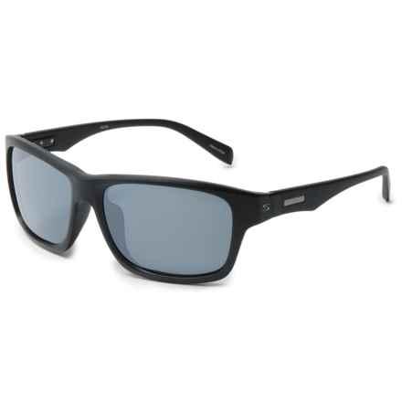 Serfas Hiline Sunglasses - Polarized in Matte Black/Grey/Gloss Black - Overstock