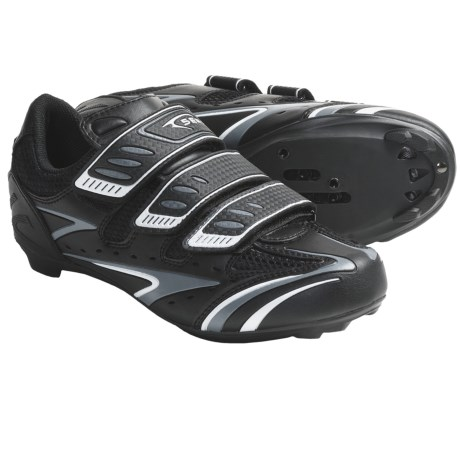 Serfas Interval Road Cycling Shoes (For Men) in Black
