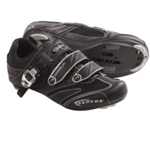 Serfas Podium Road Cycling Shoes - SPD, 3-Hole (For Women) in Black - Closeouts