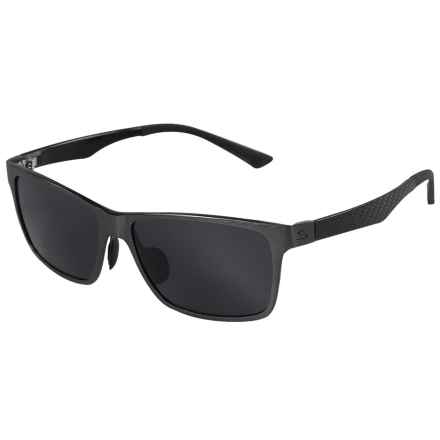 Serfas Swazey Sunglasses - Polarized in Carbon/Aluminum - Overstock