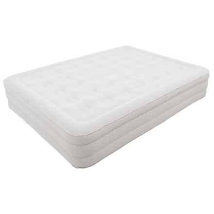 """Serta 14"""" Raised Queen Air Mattress with Pump in See Photo - Closeouts"""