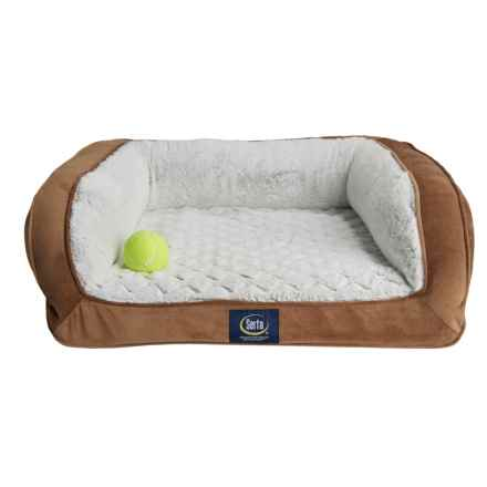 "Serta Mini-Couch Pet Bed - 24x20"" in Tan - Closeouts"