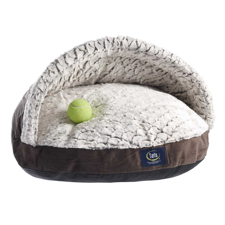 Serta Burrow Dog Bed