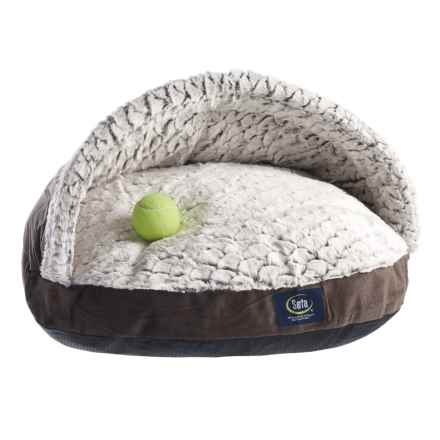 Serta Nest Pet Bed in Brown - Closeouts