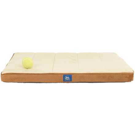 "Serta Orthopedic Foam Crate Mat - Medium, 22x30"" in Camel - Closeouts"