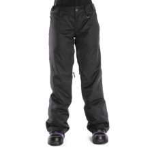 Sessions Chase Snow Pants - Waterproof, Insulated (For Women) in Black - Closeouts