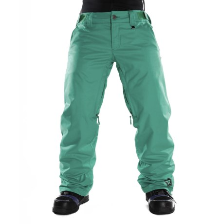 Sessions Chase Snow Pants - Waterproof, Insulated (For Women) in Teal