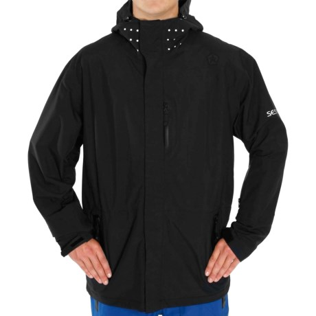 Sessions Drone Jacket - Waterproof (For Men) in Black