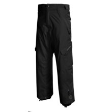 Sessions Gridlock Snowboard Pants - Waterproof (For Men) in Black - Closeouts