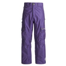 Sessions Gridlock Snowboard Pants - Waterproof (For Men) in Deep Purple - Closeouts