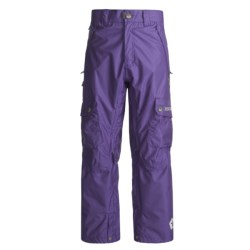 Sessions Gridlock Snowboard Pants - Waterproof (For Men) in Deep Purple