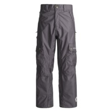 Sessions Gridlock Snowboard Pants - Waterproof (For Men) in Grey - Closeouts