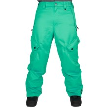 Sessions Gridlock Snowboard Pants - Waterproof (For Men) in Teal - Closeouts