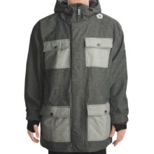 Sessions Humphreys Heathered Jacket (For Men) in Grey - Closeouts