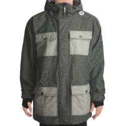 Sessions Humphreys Heathered Jacket (For Men) in Grey