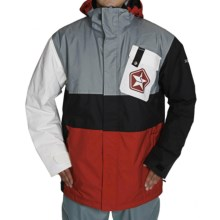 Sessions Iso Jacket - Insulated (For Men) in Red - Closeouts