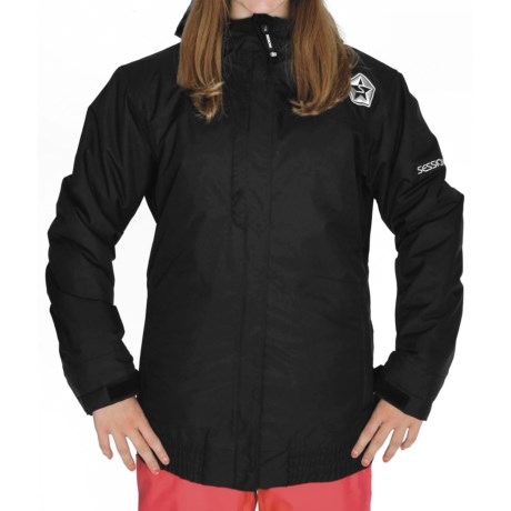 Sessions Meadow Jacket - Waterproof, Insulated (For Women) in Black