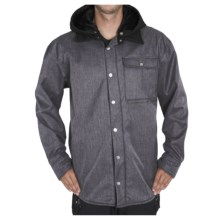 Sessions Outlaw Jacket - Soft Shell (For Men) in Grey Heather - Closeouts