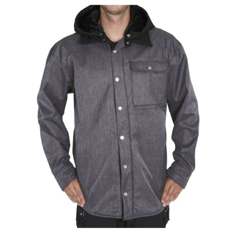 Sessions Outlaw  Soft Shell Jacket (For Men) in Grey Heather