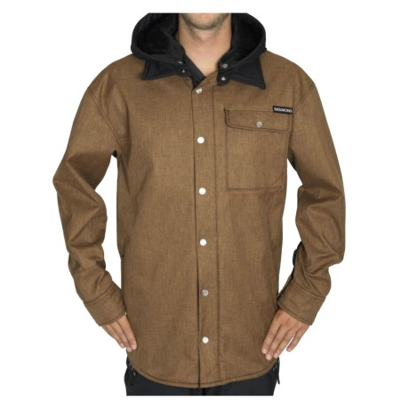 Sessions Outlaw  Soft Shell Jacket (For Men) in Orange Heather