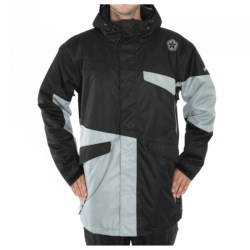 Sessions Platform Jacket - Insulated (For Men) in Black