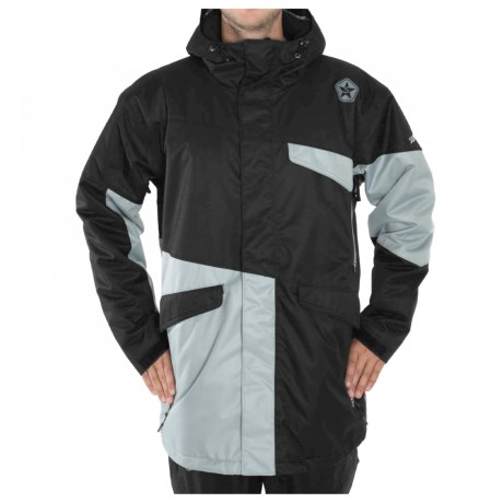 Sessions Platform Jacket - Insulated (For Men) in Black