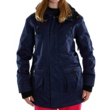 Sessions Ridgeline Jacket - Insulated (For Women) in Navy - Closeouts