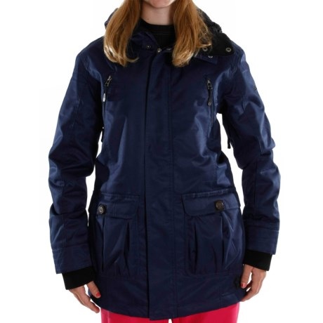 Sessions Ridgeline Jacket - Insulated (For Women) in Navy