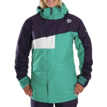 Sessions Swift Jacket - Insulated (For Women) in Teal - Closeouts