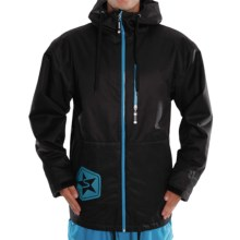 Sessions Tech Star Jacket - Insulated (For Men) in Black - Closeouts