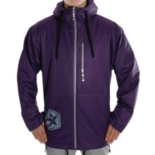 Sessions Tech Star Jacket - Insulated (For Men) in Purple - Closeouts