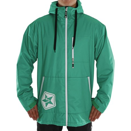 Sessions Tech Star Jacket - Insulated (For Men) in Teal