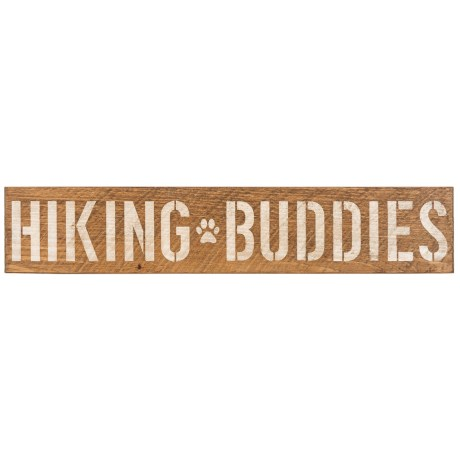 Image of Seven Anchor Designs Hiking Buddies Wooden Sign - 6x30?
